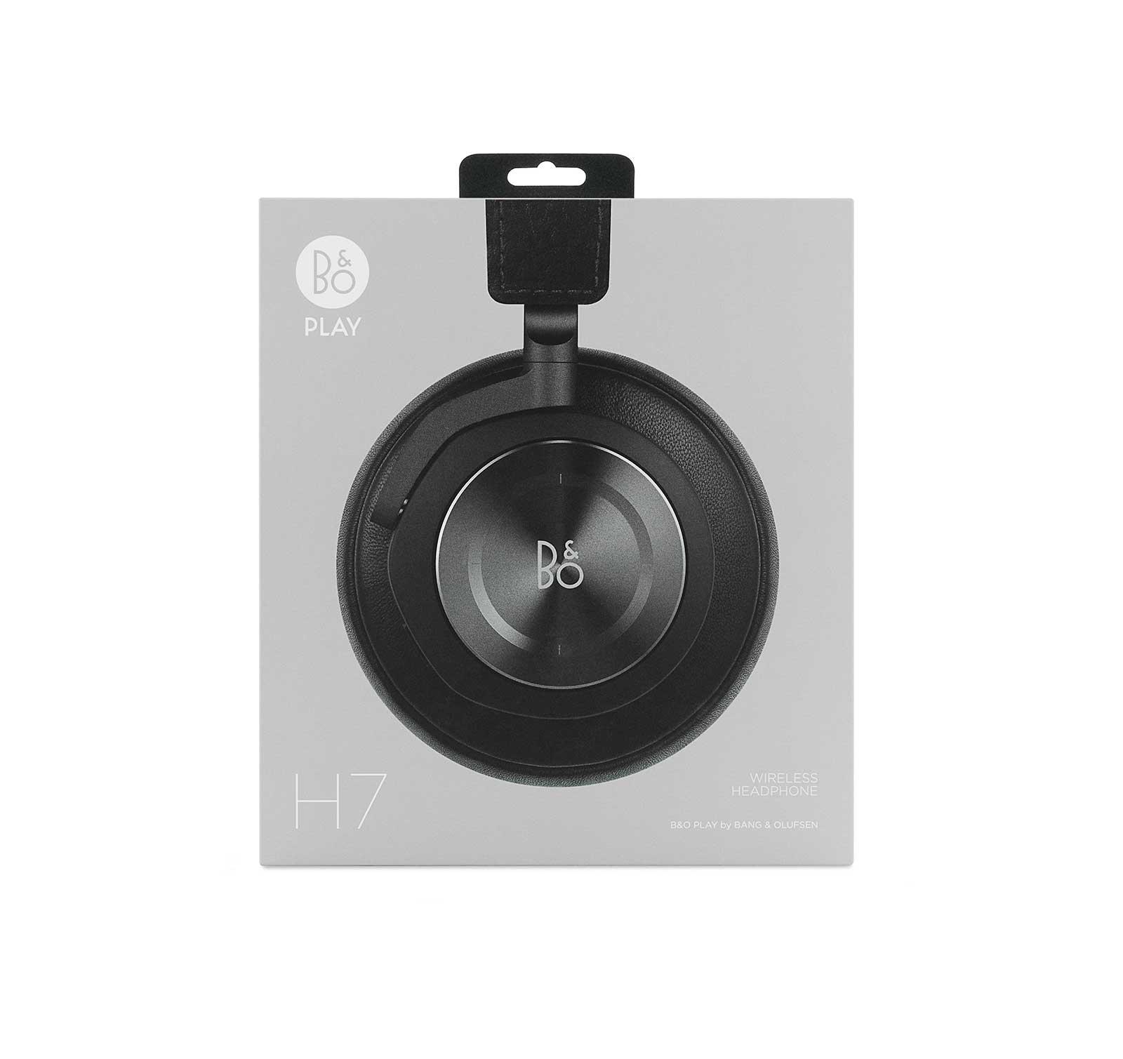 796d521c79645d B&O Play Beoplay H7 Black Wireless Over-ear Headphones - Walmart.com