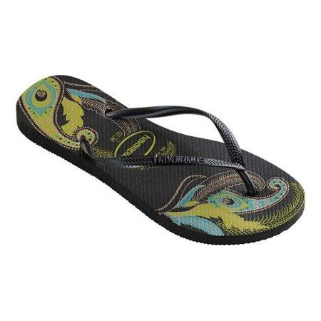 3c061495d02fc5 Havaianas - Women s Havaianas Slim Organic Flip Flop - Walmart.com