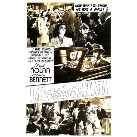 The Man I Married Center From Left Joan Bennett Lloyd Nolan On Window Card 1940 Movie Poster (Lloyds Center)