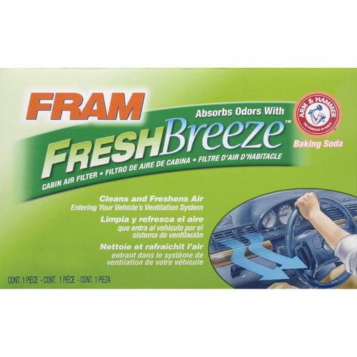 FRAM Fresh Breeze Cabin Air Filter, CF10136
