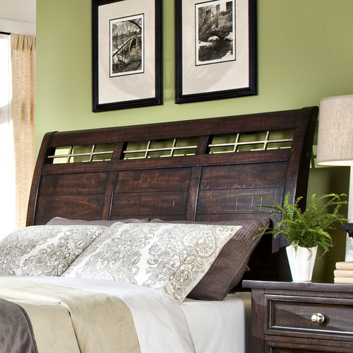 Imagio Home by Intercon Haven Sleigh Headboard