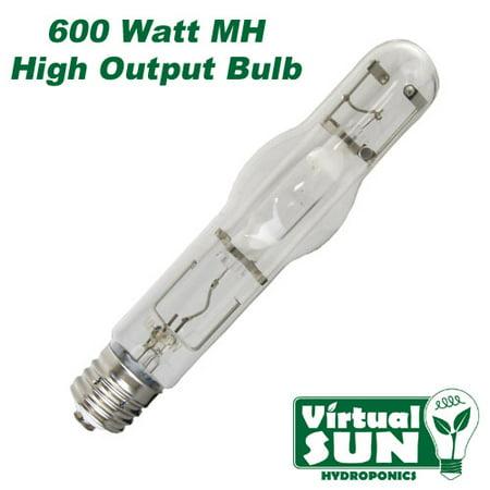 Virtual Sun 600W Mh Metal Halide Grow Lamp Light Bulb   600 Watt