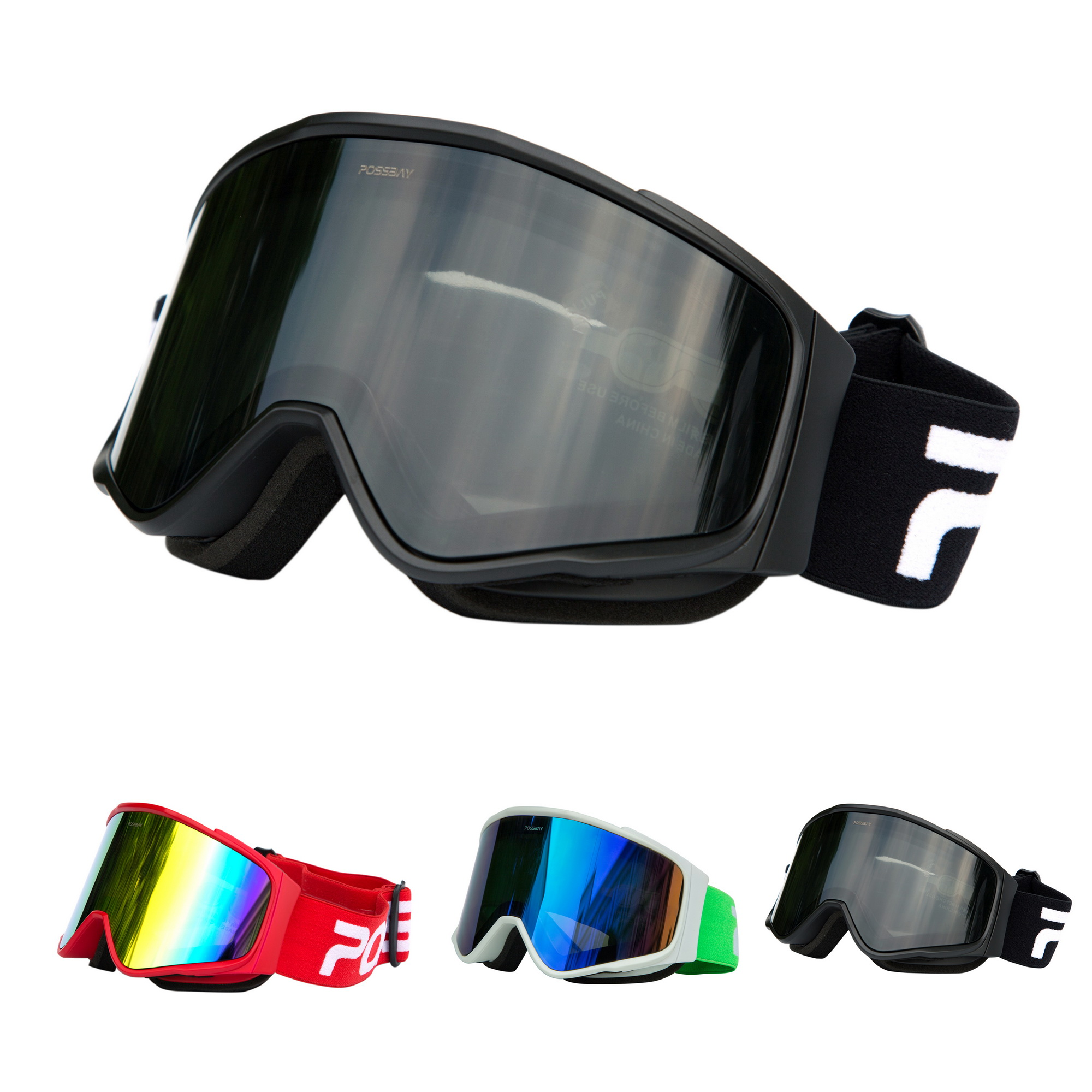 Details about  /Winter Adults Snow Sport Goggles Ski Snowmobile Snowboard Skate Glasses Eyewear