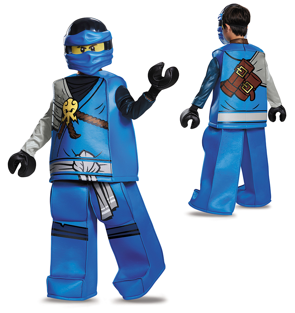 Disguise Inc Boys' Lego Ninjago Movie Jay Prestige Costume