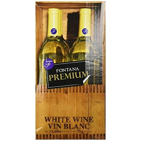 Chardonnay Fontana Wine Making Kit Premium 23 (Best Chardonnay Wine Brands)