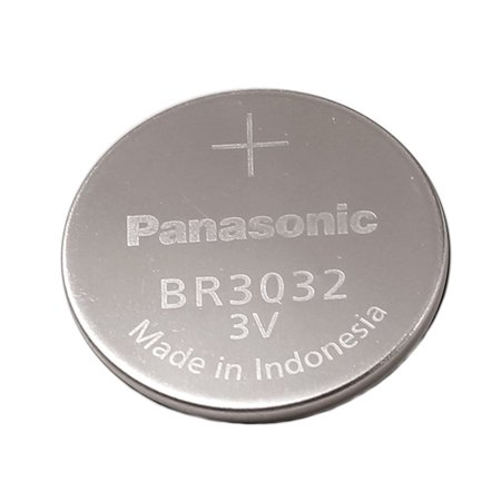 Panasonic Battery, Lithium Button Cell Br3032 (Pack of 3)
