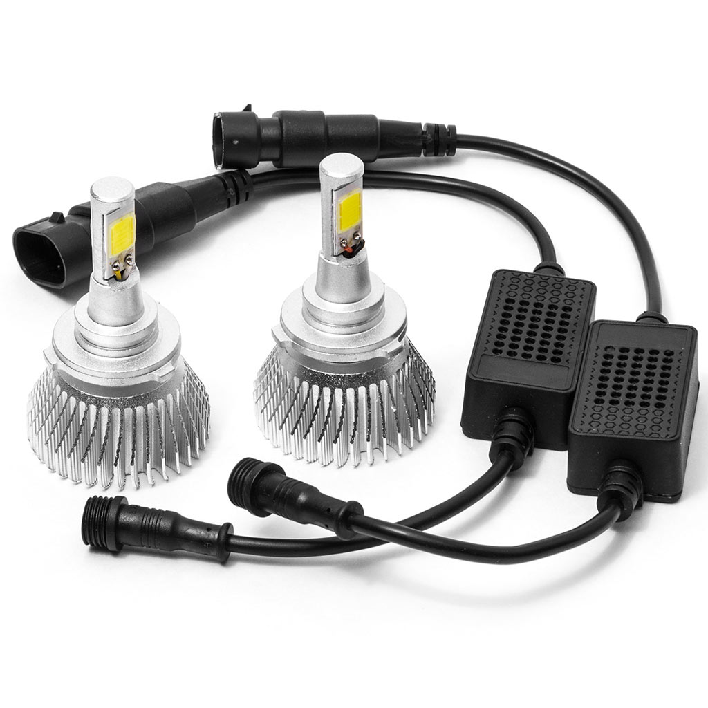 Biltek LED Low Beam Conversion Bulbs for 2000-2001 Toyota Camry (9006 Bulbs) - image 4 de 4