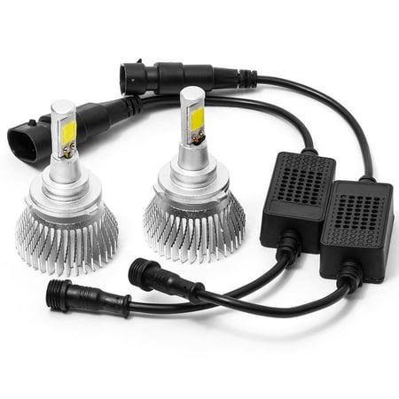Biltek LED Low Beam Conversion Bulbs for 1995-1998 Eagle Talon (9006