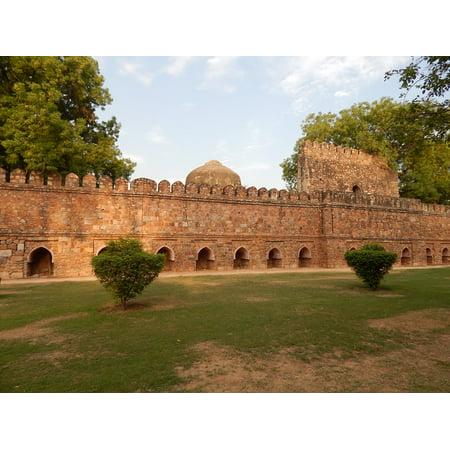 Framed Art for Your Wall Culture India New Delhi Delhi Lodhi Garden 10x13 Frame