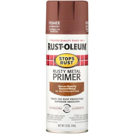 Rust-Oleum® Stops Rust® Rusty Metal Primer 12 oz  Aerosol Can