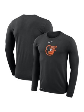 on sale 04e5d a6009 Product Image Baltimore Orioles Nike Logo Performance T-Shirt - Black
