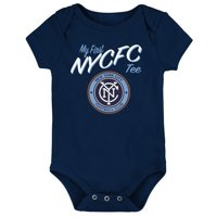 New York City FC Newborn & Infant My New First Bodysuit - Navy