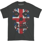 Misfits Men's  Union Jack T-shirt Coal