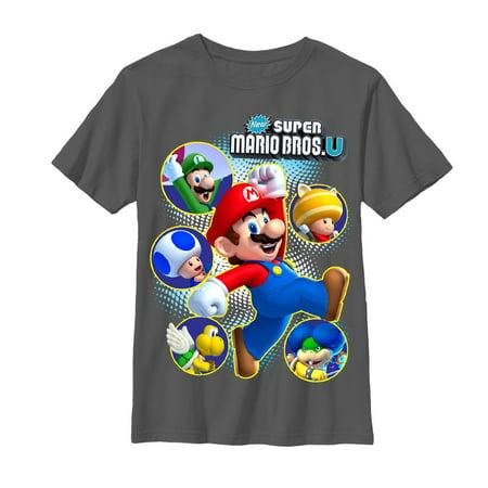 Nintendo Boys' New Super Mario Bros U - Mario Bros Outfit