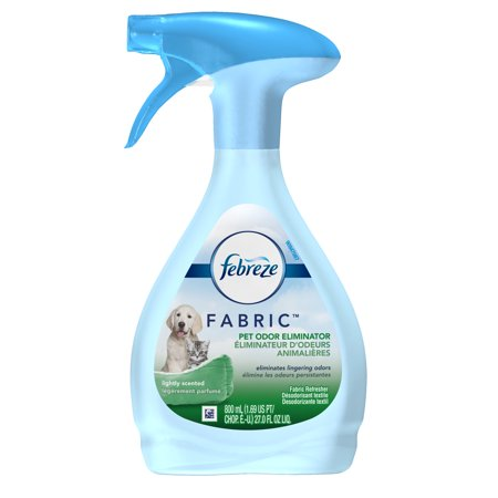 Scent Eliminator Spray Liquid - (2 pack) Febreze FABRIC Refresher, Pet Odor Eliminator, 2 Count, 27 oz