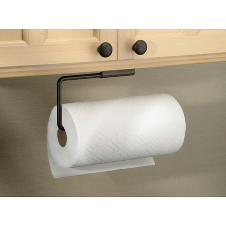 InterDesign Swivel Paper Towel Holder for Kitchen, Wall ...