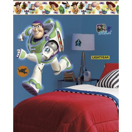 Wallhogs Disney Toy Story 3 Buzz Room Makeover Wall Decal (Halloween Room Makeover)