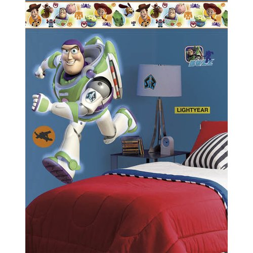 Wallhogs Disney Toy Story 3 Buzz Room Makeover Wall Decal