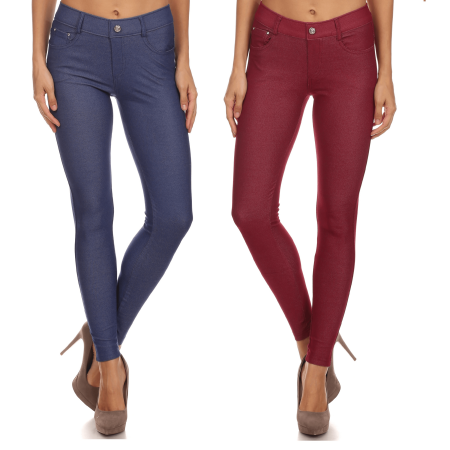 26a823975ad Simlu - Pull On Plus Size Jeggings for Women Jegging Jeans Plus Size Fitted  Jeggings - Walmart.com