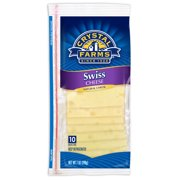 Crystal Farms Swiss Cheese Slices, 7 Oz., 10 Count