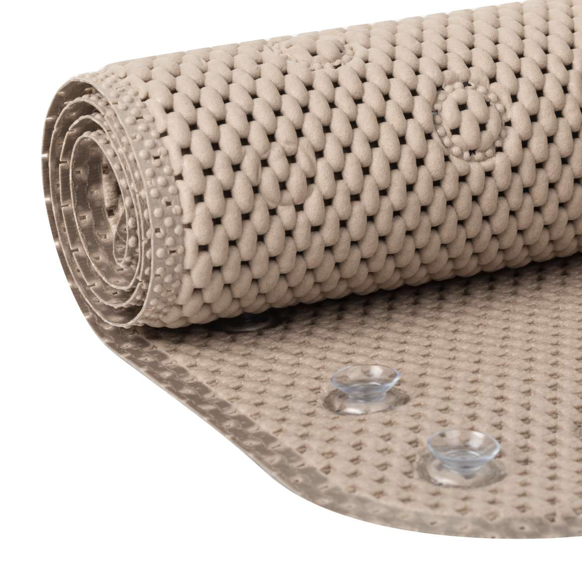 Mainstays Cushioned Bath Mat - Taupe, 17 in. x 36 in.