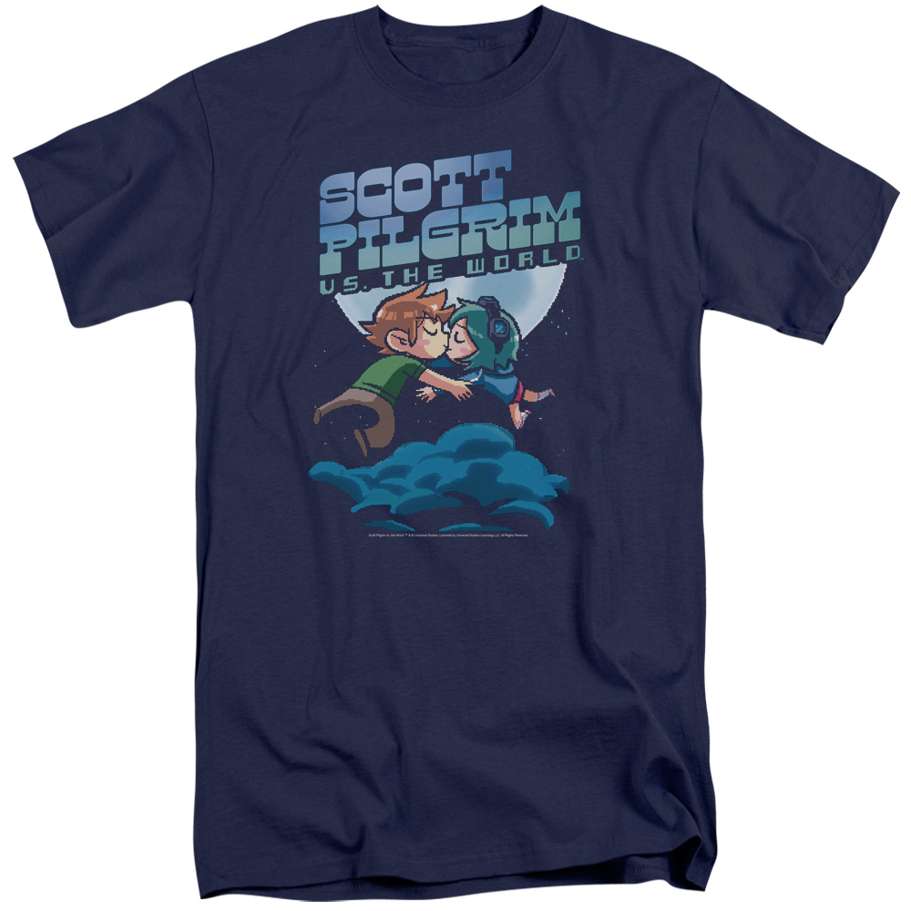 Scott Pilgrim Lovers Mens Big and Tall Shirt