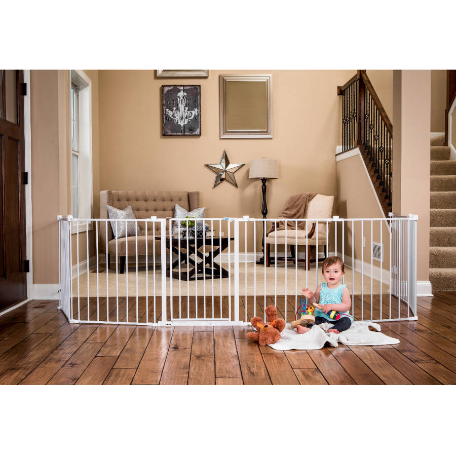 Extra Wide Baby Gate Playard 192 With Walk Through Door Easy Take