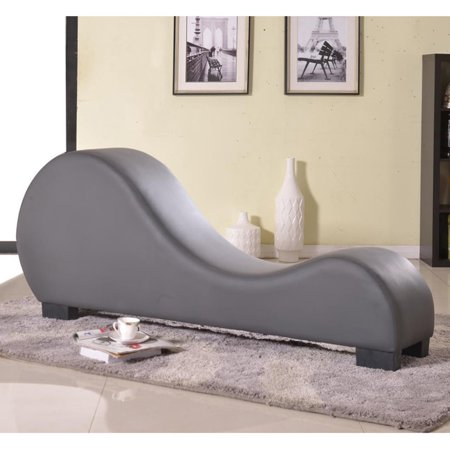 US Pride Furniture Divine Upholstered Chaise Lounge Chair ...