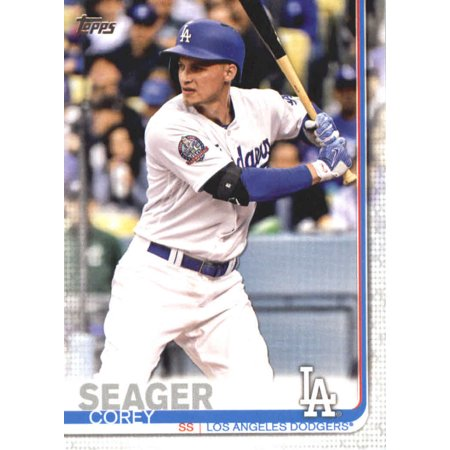 2019 Topps 41 Corey Seager Los Angeles Dodgers Baseball Card Gotbaseballcards