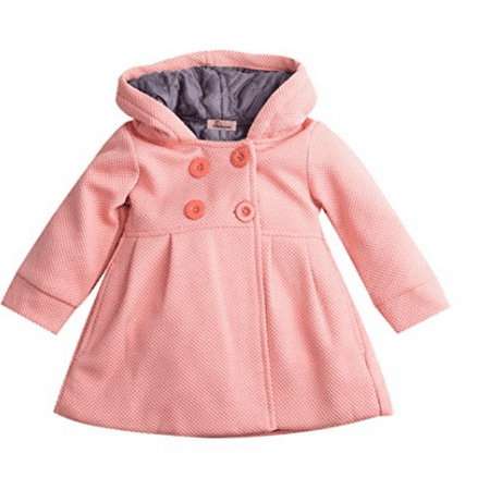 3d224fbb8048 Gaono - Toddlers Baby Girl Winter Trench Hooded Coats Outfits ...