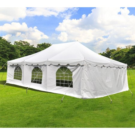 Party Tents For Sale 20x30 >> Party Tents Direct 20 X 30 Wedding Event Pole Canopy Tent With Side Walls