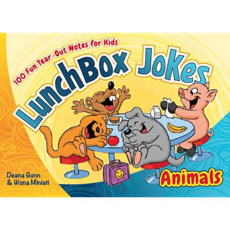Lunchbox Jokes: Animals: 100 Fun Tear-Out Notes for Kids (Lunch Box Notes Kids)