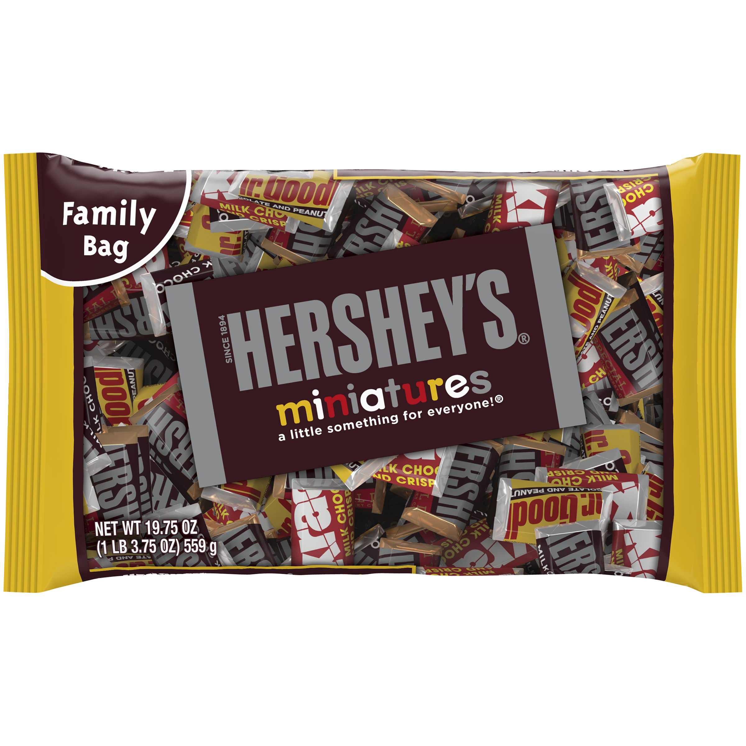 HERSHEY'S Miniatures Assortment, 19.75 oz