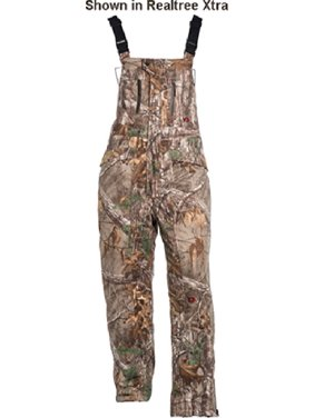 10X Silent Quest Insulated Bibs With Scentrex Mossy Oak Country L