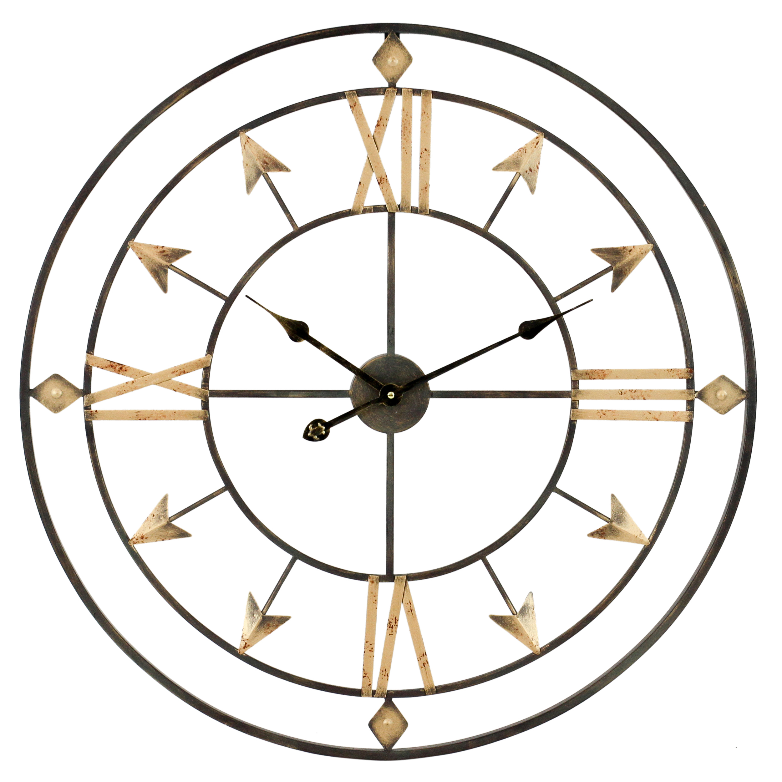 Kiara Arrow Wall Clock