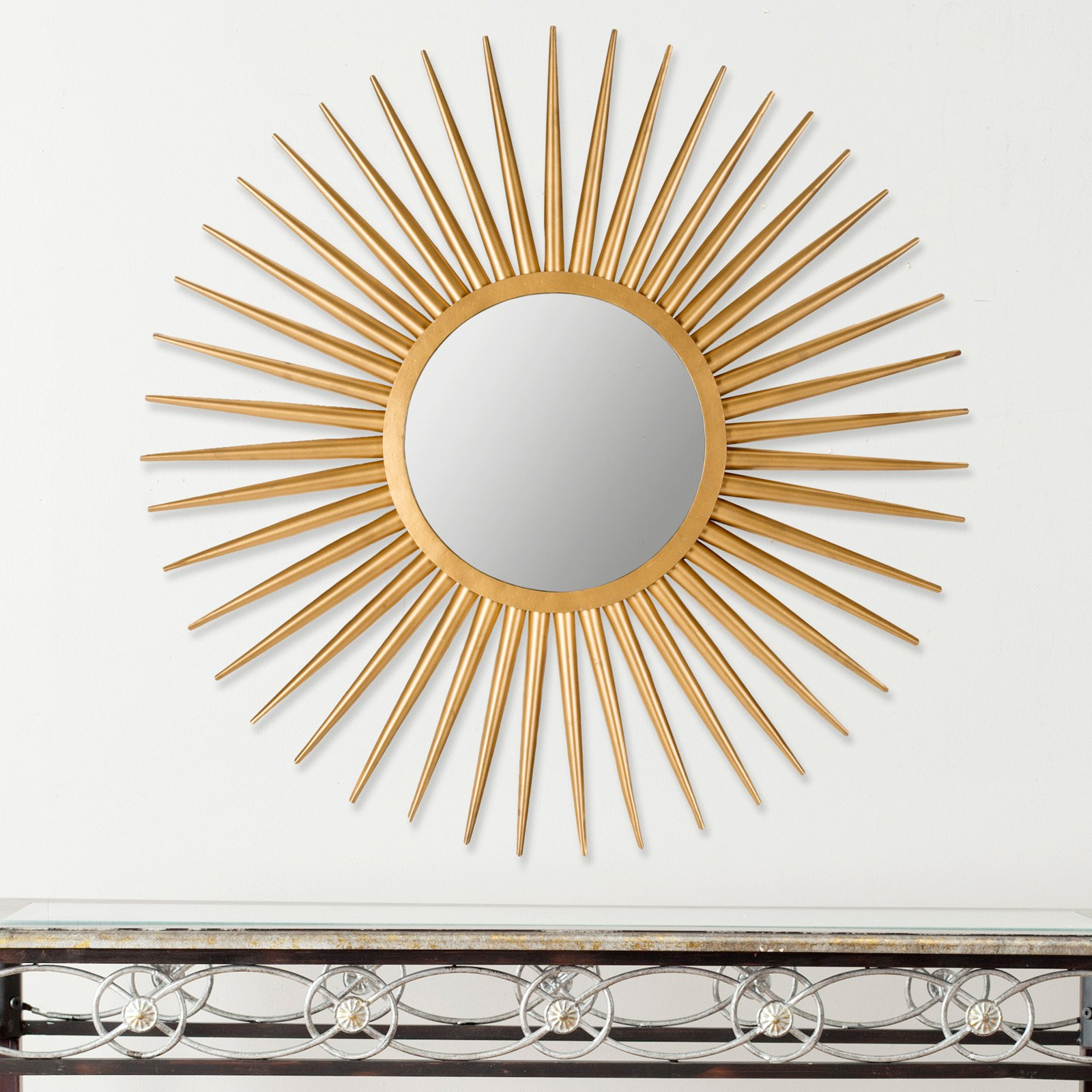 Safavieh Sun Flair Mirror, Gold by Safavieh