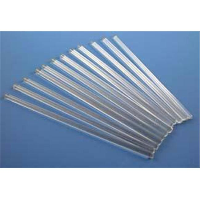 Olympia Sports 16348 Glass Stirring Rods- 6mm x 10 inch