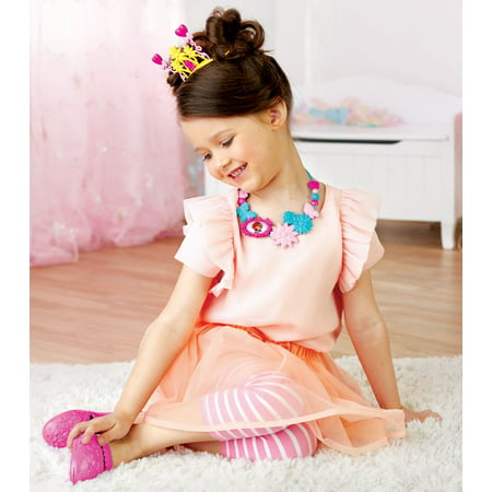 Fancy nancy fancy dressup set includes fancy tiara, fancy necklace and fancy - Costume Jewelry