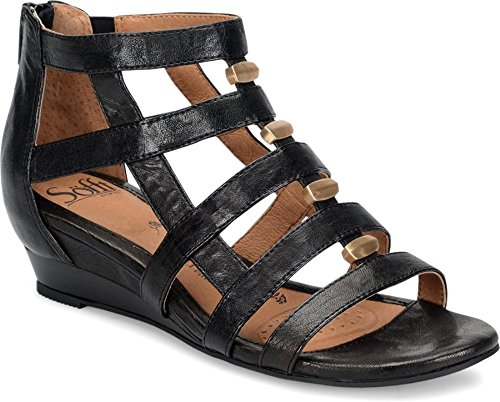 Sofft Womens Rio Leather Open Toe Casual Strappy Sandals by Sofft