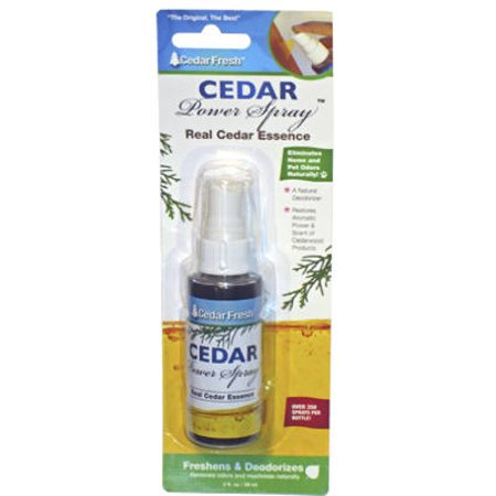 2PK-2 OZ, Cedar Power Spray, Cedar Extract Spray, Restores Scent Of Cedar