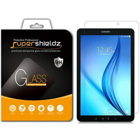 [2-Pack] Supershieldz for Samsung Galaxy Tab E 8.0 inch Tempered Glass Screen Protector, Anti-Scratch, Anti-Fingerprint, Bubble