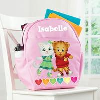 Personalized Daniel Tiger's Neighborhood Pink Toddler Backpack