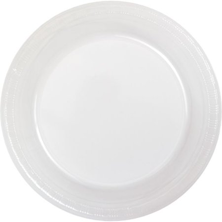 Heavy Plastic Dinner Plates (Touch of Color Plastic Dinner Plate, 9