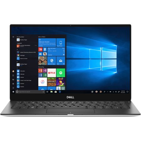 Dell Xps 13 9380 Notebook, 13.3'', Core I5 I5 8265 U, 8 Gb Ram, 256 Gb Ssd, Platinum Silver, Carbon Fiber Black, Windows 10 Home by Dell