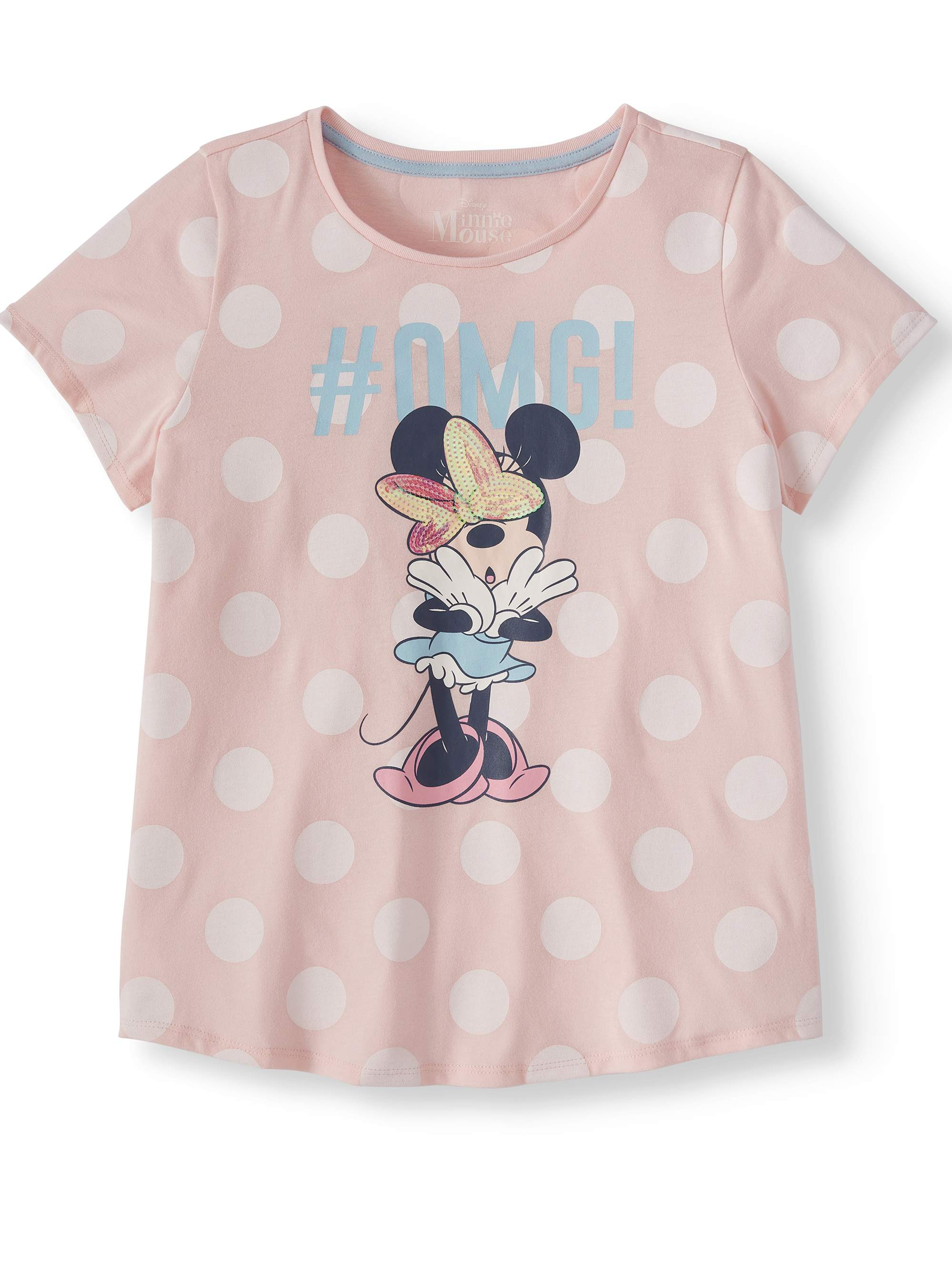 #OMG Minnie Graphic T-Shirt (Little Girls & Big Girls)