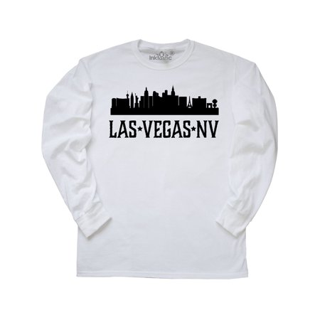 Las Vegas Nevada City Skyline Long Sleeve - Nevada City Halloween 2017