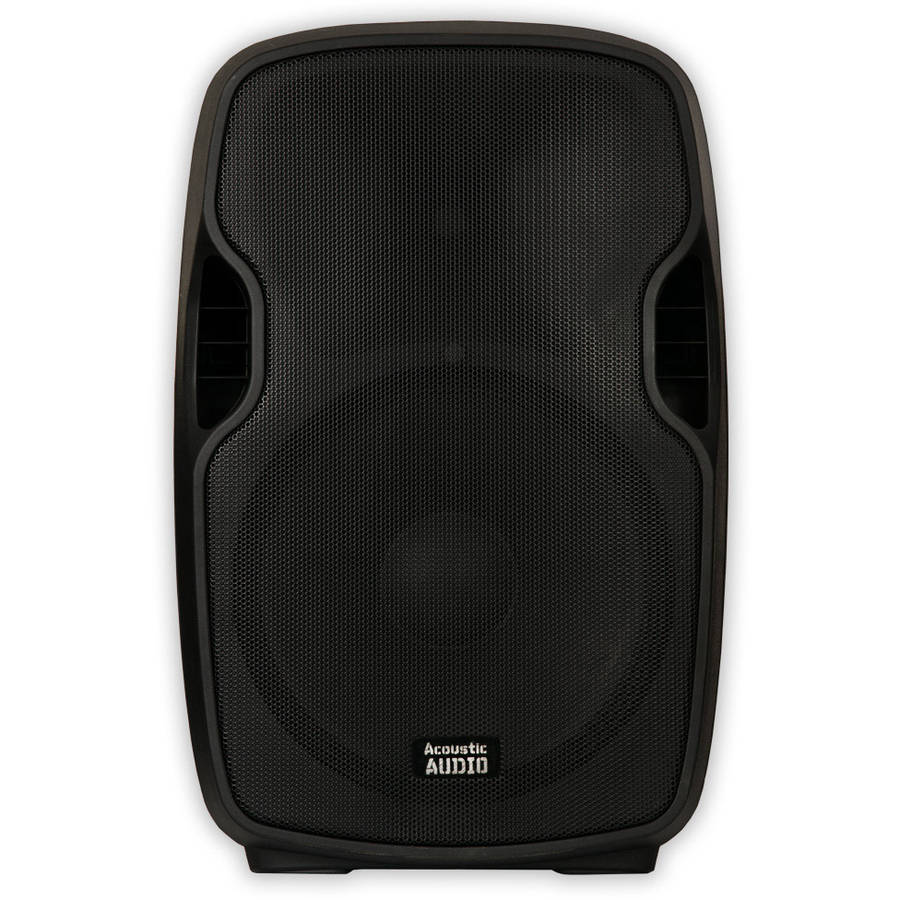 "Acoustic Audio AA15U Powered 1000W 15"" Speaker 2 Way USB MP3 Player by Acoustic Audio"