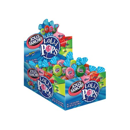 An Item of Jolly Rancher Lollipops (50 ct.) - Pack of 1 [Bulk Qty Discount Coupon : Christo]