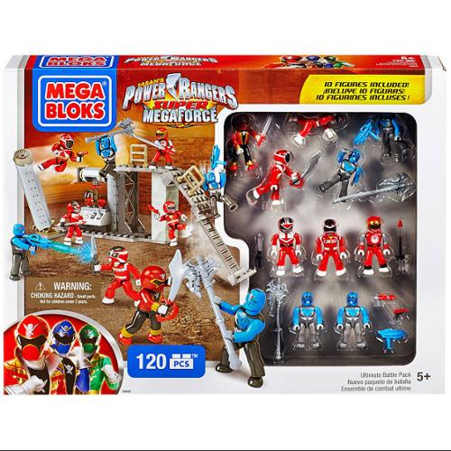 Mega Bloks Power Rangers Super Megaforce Ultimate Battle Pack Set #89600
