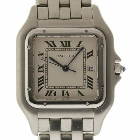Cartier Panthere De Cartier W25032P5 Steel Women Watch (Certified Authentic & Warranty)